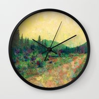 Miles To Go Before I Sle… Wall Clock