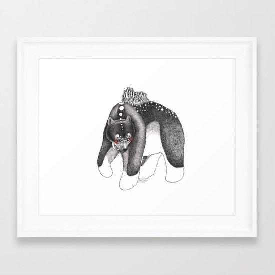 Oso Framed Art Print