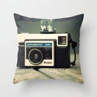 My X-30 Cube Throw Pillow