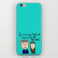 I will show you who can't time travel iPhone & iPod Skin