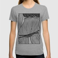 la femme 08 Womens Fitted Tee Athletic Grey SMALL