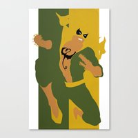 Iron Fist Canvas Print