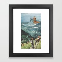 By Land Or Sea Framed Art Print