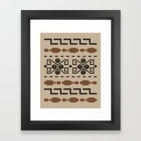 The Dude's Duds Framed Art Print