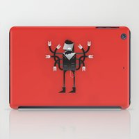 Back To Metal Business iPad Case