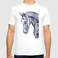 In Check Mens Fitted Tee White SMALL