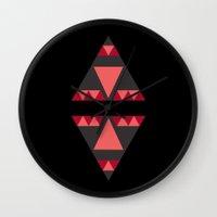 Triangle Reflection Wall Clock