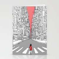 Lonely Metropolis Stationery Cards