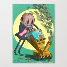 The Chipper Canvas Print