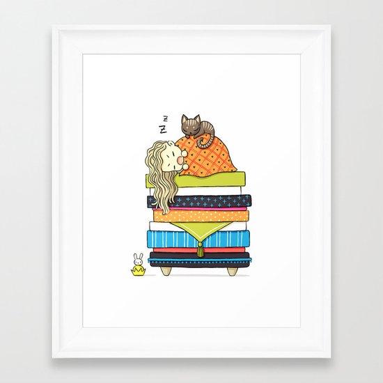 Plan for the Winter Framed Art Print