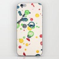 Crayon Love: Splatter Th… iPhone & iPod Skin