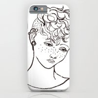 Young girl head iPhone 6 Slim Case