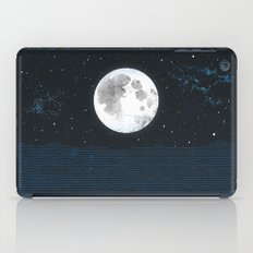 Blue Moonscape iPad Case
