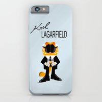 iPhone & iPod Case featuring Coupling up Karl Lagarfield by quibe
