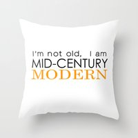 Middle Age Is The New Bl… Throw Pillow