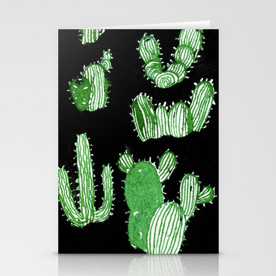 Cactus Beard Dude Stationery Card