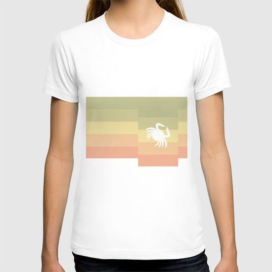 Out At Sea Series - Sideways and Crabby T-shirt