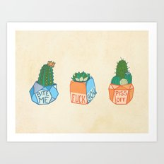 Fuck-You-llents Art Print