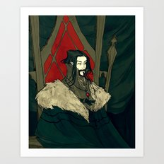 Vlad Tepes Art Print