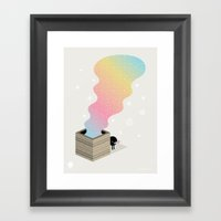 The Magic Box Framed Art Print
