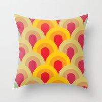 Bridge Pattern Throw Pillow