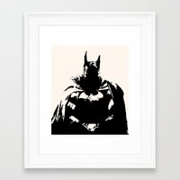 Lost In Thought Batou Framed Art Print