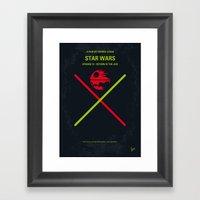 No156 My STAR Episode VI… Framed Art Print