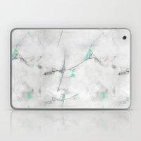 Green Cracked Design Laptop & iPad Skin