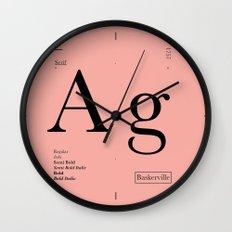 Baskerville Wall Clock