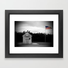 No Mail Today Framed Art Print