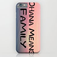 iPhone & iPod Case featuring Ohana by Amy Copp