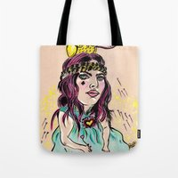 Summer's Daydream Tote Bag