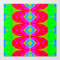 Summer Abstract Pattern I  Canvas Print