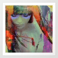 Touch Right In The Heart… Art Print