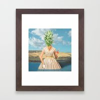 Logic of Color Framed Art Print