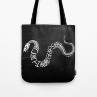 Death Grips / Bones Post… Tote Bag