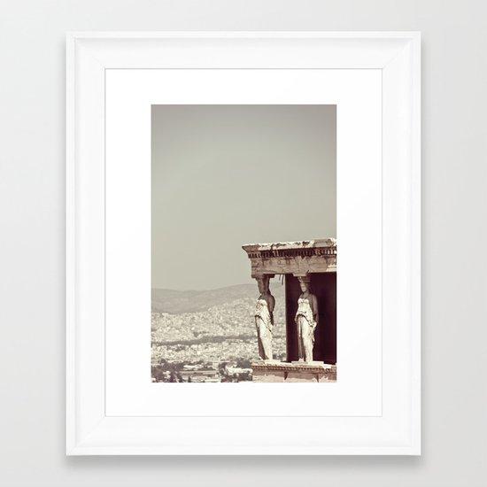 Athina Framed Art Print