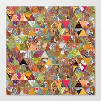 Like a Quilt Canvas Print