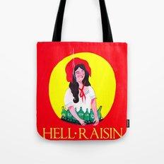 HELL RAISIN Tote Bag