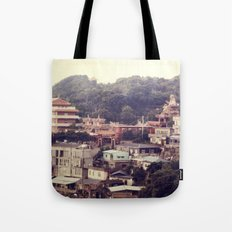Mountain Town Tote Bag