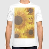 Flower Child  Mens Fitted Tee White SMALL