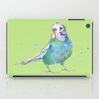 Cute Parakeet - Bertie Wonderblue iPad Case