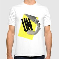 Un Mens Fitted Tee White SMALL