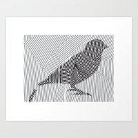 Put A Broken Bird On It! Art Print