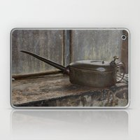 Antique oil can Laptop & iPad Skin