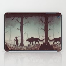 Wolf Parade iPad Case
