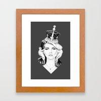 Debbie Harry Framed Art Print