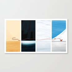 (the) Journey  Canvas Print