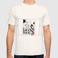 London window Mens Fitted Tee Natural SMALL
