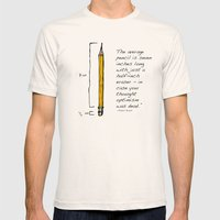 Optimism  Mens Fitted Tee Natural SMALL
